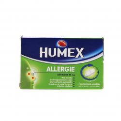 Humex allergie cétirizine 10 mg Boîte de 7 comprimés