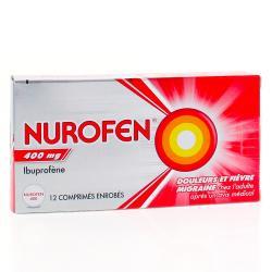 Nurofen 400 mg Boîte de 12 comprimés