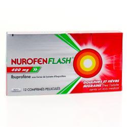 Nurofenflash 400mg Boîte de 12 comprimés