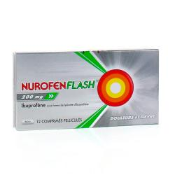 Nurofenflash 200 mg Boîte de 12 comprimés