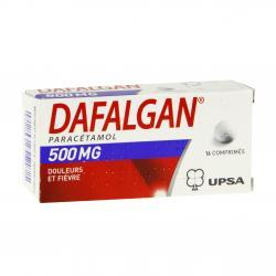 Dafalgan 500 mg Boîte de 16 comprimés
