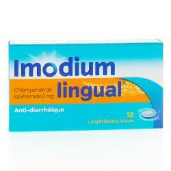 Imodiumlingual 2 mg Boîte de 12 lyophilisats