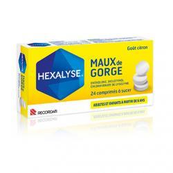 Hexalyse Boîte de 24 comprimés
