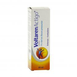 Voltarenactigo 1 % Flacon de 50 ml