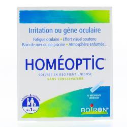 Homéoptic Boîte de 10 récipients unidoses