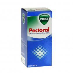 Vicks sirop pectoral 0,15% Flacon de 150 ml