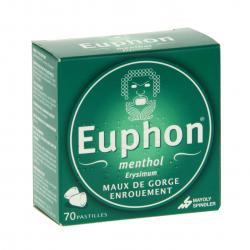 Euphon menthol Boîte de 70 pastilles