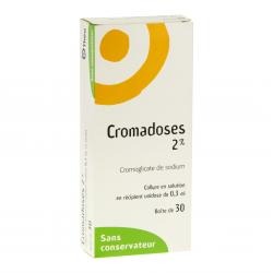 Cromadoses 2 pour cent Boîte de 30 récipients unidoses