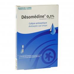 Désomédine 0,1 pour cent Flacon de 0,6 ml