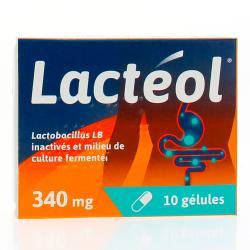 Lactéol 340 mg Boîte de 10 gélules