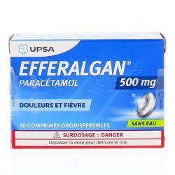 Efferalganodis 500mg Boîte de 16 comprimés