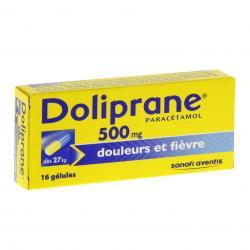 Doliprane 500 mg Boîte de 16 gélules
