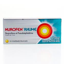 Nurofen rhume Boîte de 20 comprimés