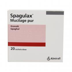 Spagulax mucilage pur Boîte de 20 sachets-doses