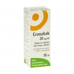 Cromabak 20 mg/ml Flacon de 10 ml