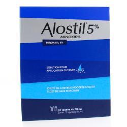 Alostil 5 pour cent Flacons de 60 ml