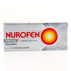 Nurofen 200 mg Boîte de 20 comprimés