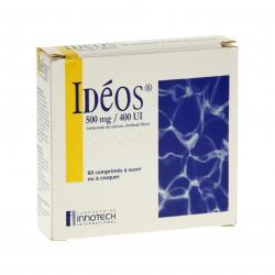 Ideos 500 mg/400 ui 4 Tubes de 15 comprimés