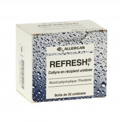 Refresh Boîte de 30 récipients unidoses
