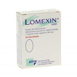 Lomexin 600 mg Boîte de 1 capsule