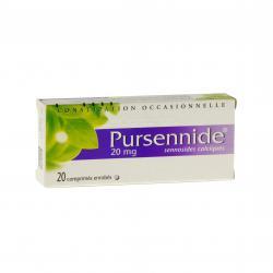 Pursennide 20 mg Boîte de 20 comprimés