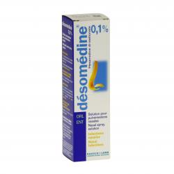 Désomédine 0,1 pour cent Flacon de 10 ml