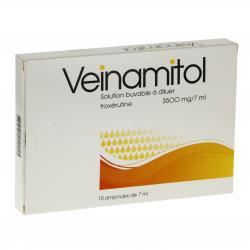 Véinamitol 3500 mg/7 ml Boîte de 10 ampoules