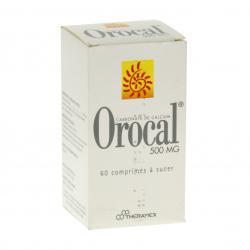 Orocal 500 mg Boîte de 60 comprimés