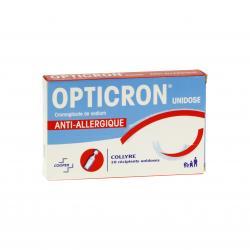 Opticron unidose Boîte de 10 récipients
