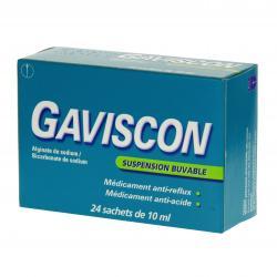 Gaviscon Boîte de 24 sachets-doses