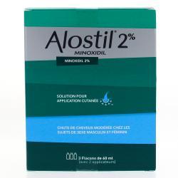 Alostil 2 pour cent Flacons de 60 ml