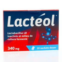 Lactéol 340 mg Boîte de 10 sachets-doses