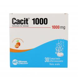 Cacit 1000 mg Tube de 30 comprimés