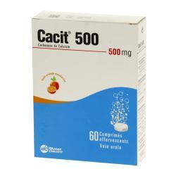 Cacit 500 mg Tube(s) de 60 comprimés