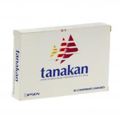 Tanakan 40 mg Boîte de 30 comprimés