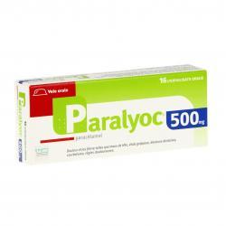 Paralyoc 500 mg Boîte de 16 lyophilisats