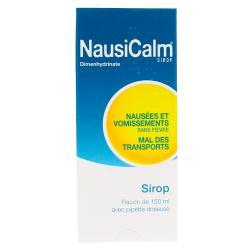 Nausicalm adultes 50 mg Flacon de 150 ml