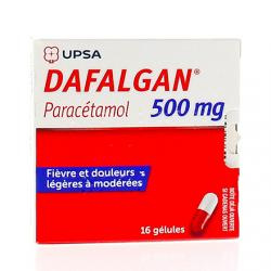 Dafalgan 500 mg Boîte de 16 gélules