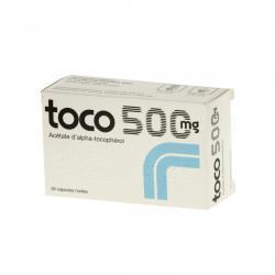 Toco 500 mg Boîte de 30 capsules