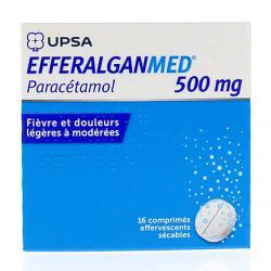 Efferalgan 500 mg Boîte de 16 comprimés effervescents