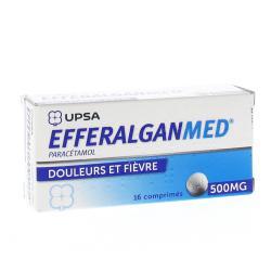 Efferalgan 500 mg Boîte de 16 comprimés