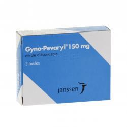 Gyno pévaryl 150 mg Boîte de 3 ovules