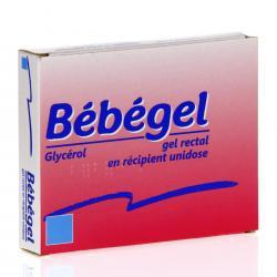 Bébégel Boîte de 6 récipients unidoses