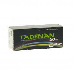 Tadenan 50 mg Boîte de 30 capsules