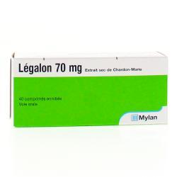 Legalon 70 mg Boîte de 40 comprimés