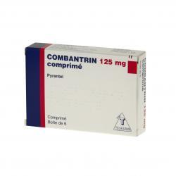 Combantrin 125 mg Boîte de 6 comprimés