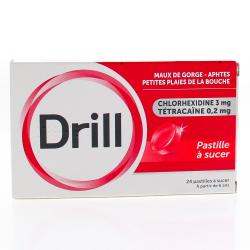 Drill Boîte de 24 pastilles