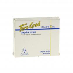 Fero-grad vitamine c 500 Boîte de 30 comprimés