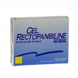 Gel rectopanbiline Boîte de 6 récipients unidoses