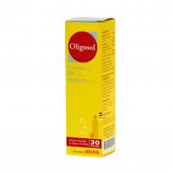 Cuivre-or-argent oligosol Flacon de 60 ml
